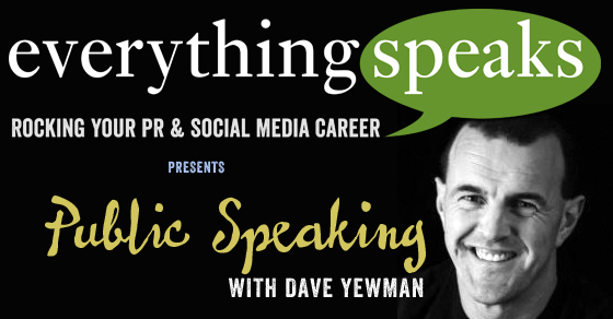 008: Public Speaking With Dave Yewman