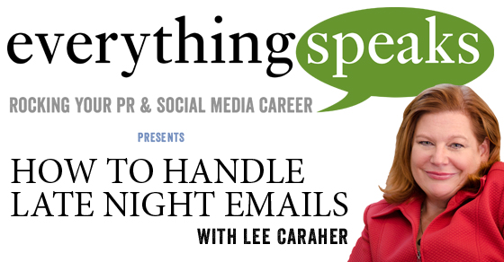 006: How To Handle Late Night Emails
