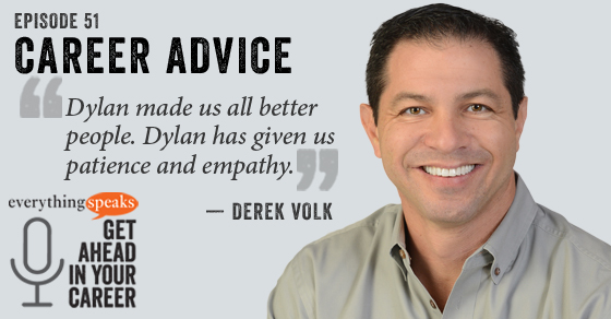 Derek Volk Career Advice