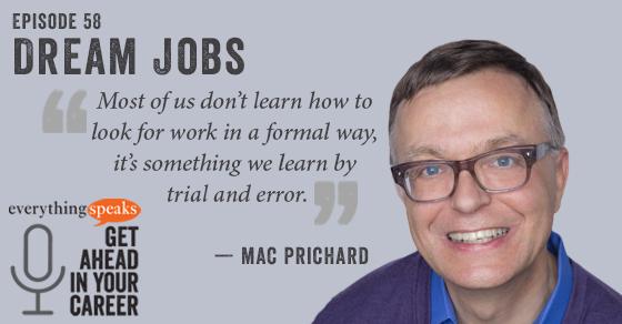Mac Prichard Career Advice