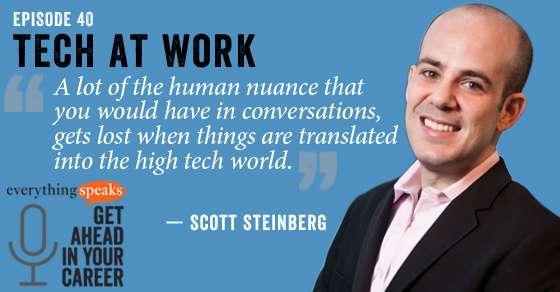 Scott Steinberg - The Etiquette Of Tech At Work