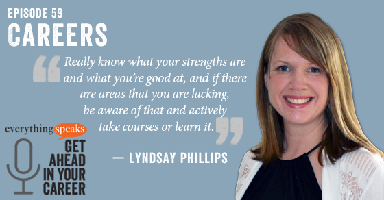Lyndsay Phillips Career Advice