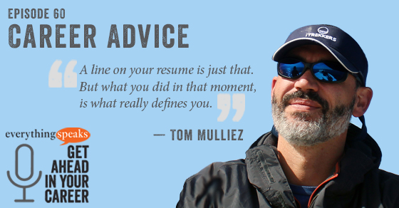 Tom Mulliez Career Advice